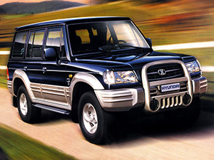 Технические характеристики Hyundai Galloper