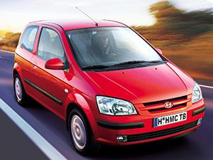 Технические характеристики Hyundai Getz 1.6i 2002-2005 г.