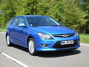 Технические характеристики Hyundai i30 1.6i 2010-2012 г.