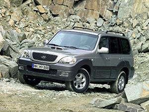 Технические характеристики Hyundai Terracan