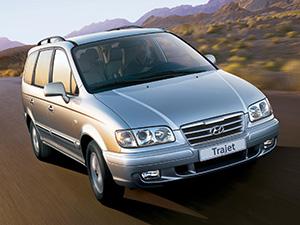 Технические характеристики Hyundai Trajet