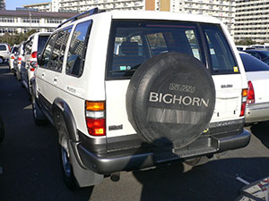 Isuzu Bighorn 5 дв. внедорожник Bighorn