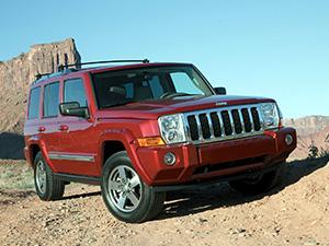 Технические характеристики Jeep Commander