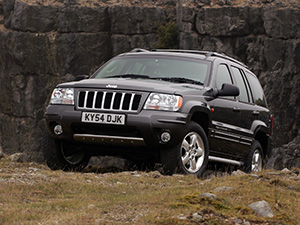 Технические характеристики Jeep Grand Cherokee 4.7i V8 2001-2003 г.