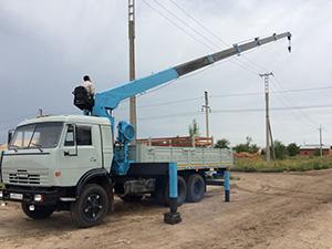 КамАЗ 53 2 дв. кран 53213