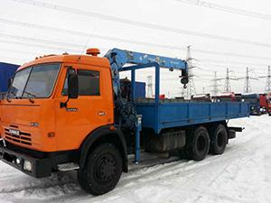 КамАЗ 53213 2 дв. кран 53213
