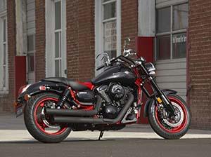 Kawasaki Vulcan кастом 1600 Mean Streak