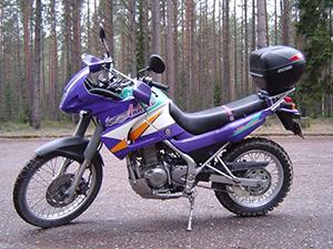 Kawasaki KLE эндуро 250 Anhelo