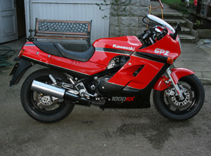 Kawasaki GPZ спортбайк 1000 RX