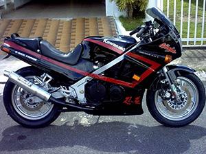 Kawasaki GPZ спорт-турист 600