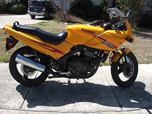 Kawasaki Ninja спортбайк Ninja 500R