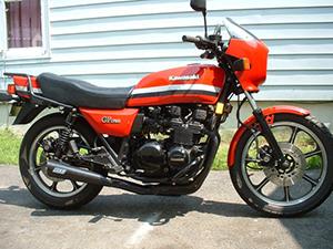 Kawasaki Z 750 туристический GT