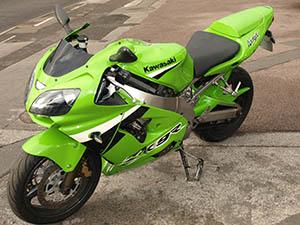 Kawasaki ZX спортбайк 9R