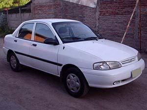 Kia Avella 4 дв. седан Avella