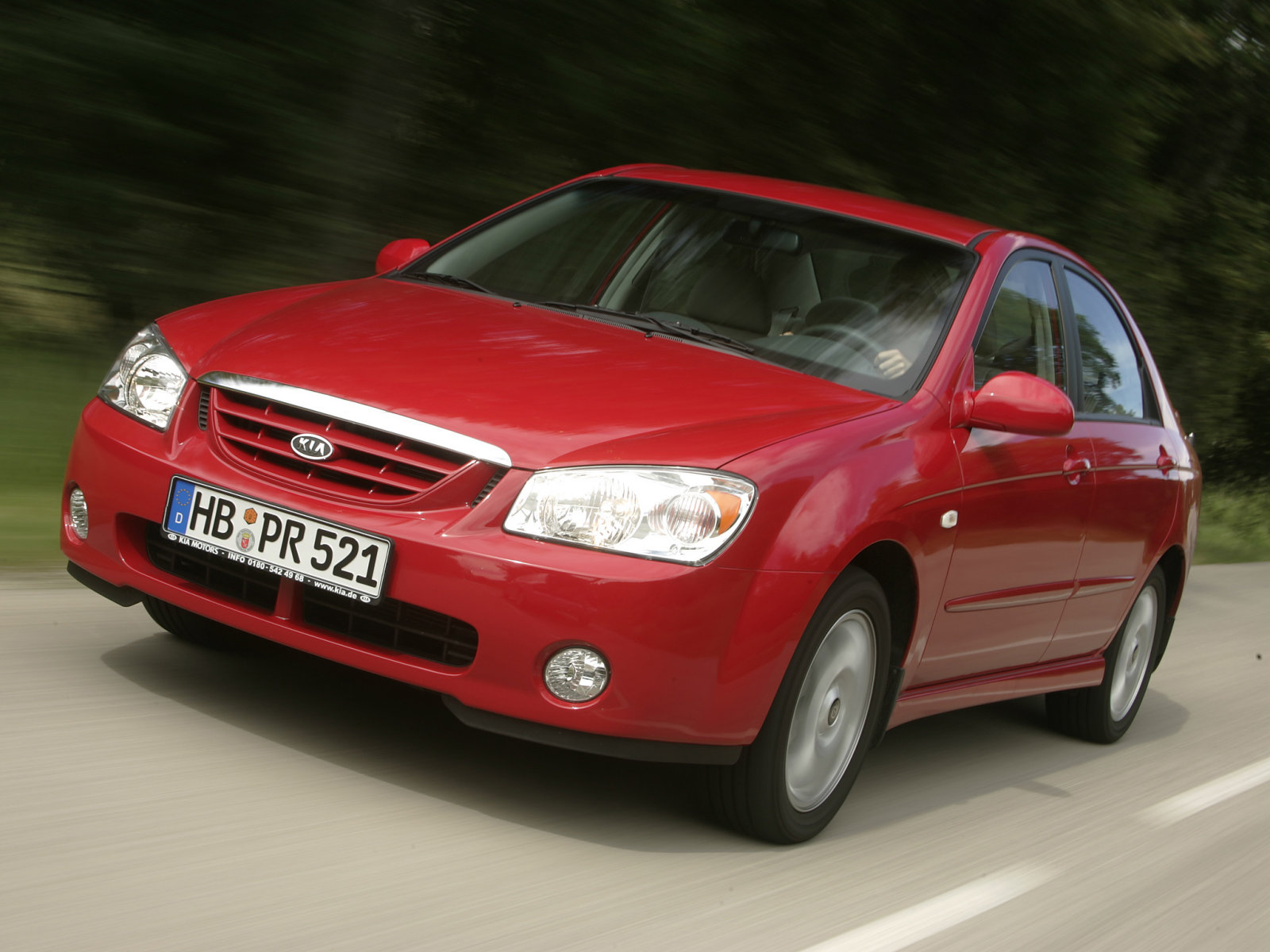 Kia (Киа) Cerato 2004-2007 г.