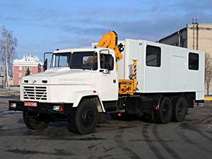 КРАЗ 6505 2 дв. шасси 65053