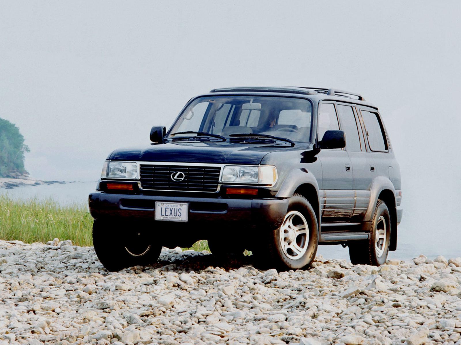 Lexus (Лексус) LX 450 (FZJ80) 1995-1998 г.