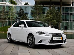 Технические характеристики Lexus IS