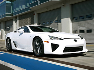 Технические характеристики Lexus LFA