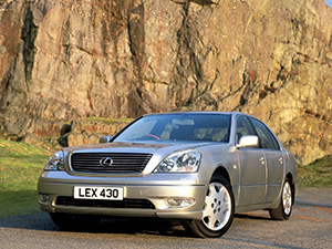 Технические характеристики Lexus LS 430 2000-2003 г.