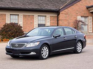 Технические характеристики Lexus LS 460 L 2006-2010 г.