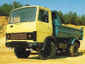 МАЗ 55 2 дв. самосвал 5551
