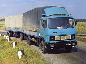 Технические характеристики МАЗ 53-серия