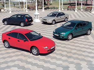 Mazda 323 3 дв. купе 323 Coupe