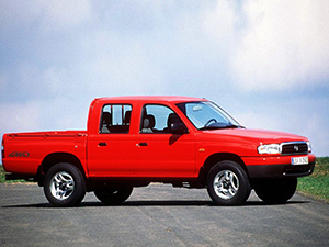 Mazda B 4 дв. пикап B