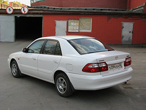 Mazda Capella 4 дв. седан Capella