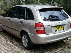 Mazda Familia 5 дв. хэтчбек Familia