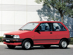 Технические характеристики Mazda 121 1.3 1988-1991 г.