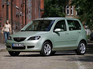 Технические характеристики Mazda 2 1.2 2006-2008 г.