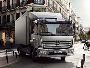 Mercedes-Benz Atego 2 дв. шасси 1628