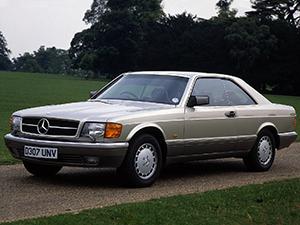 Mercedes-Benz S-class 2 дв. купе C126