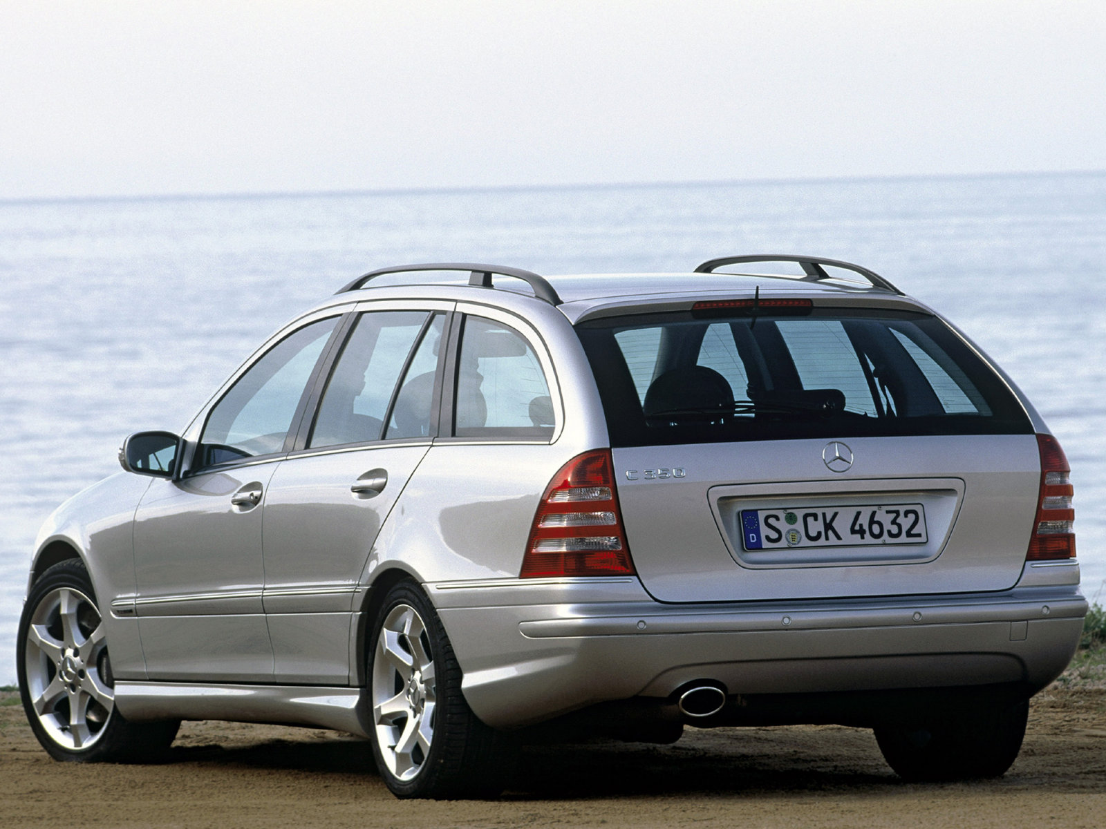Mercedes-Benz (Мерседес-Бенц) C-class Combi (S203) 2004-2007 г.