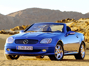 Mercedes-Benz SLK 2 дв. кабриолет R170