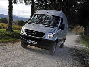Mercedes-Benz Sprinter 4 дв. фургон Sprinter (906)