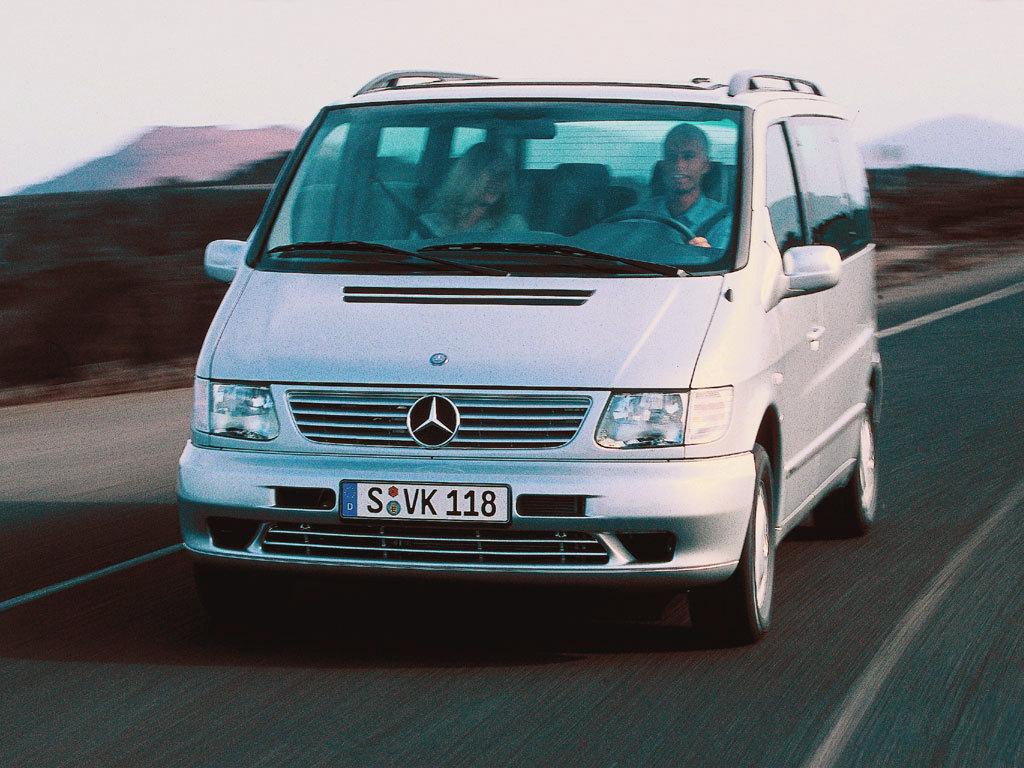 Mercedes-Benz (Мерседес-Бенц) V-class V-Class 1999-2003 г.