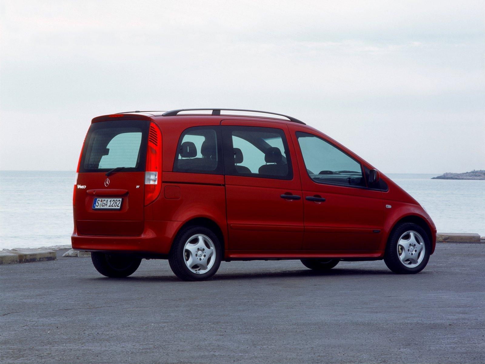 Mercedes-Benz (Мерседес-Бенц) Vaneo 2002-2006 г.