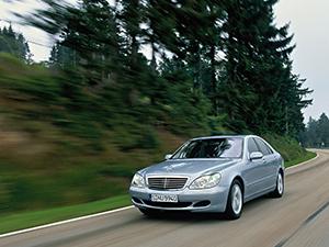 Mercedes-Benz S-class 4 дв. седан W220