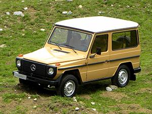 Mercedes-Benz G-class 3 дв. внедорожник W460