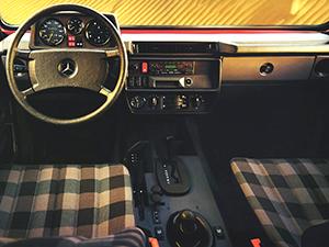 Mercedes-Benz G-class 5 дв. внедорожник W460