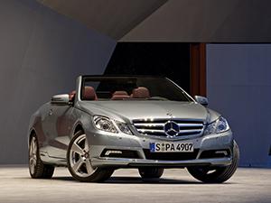 Технические характеристики Mercedes-Benz E-class Cabriolet