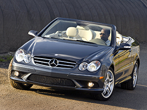 Технические характеристики Mercedes-Benz CLK CLK 500 Cabriolet 2005-2009 г.
