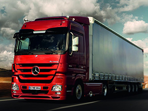 Технические характеристики Mercedes-Benz Actros