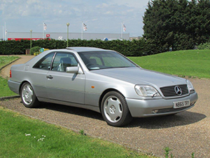 Технические характеристики Mercedes-Benz S-class S 420 Coupe 1993-1996 г.