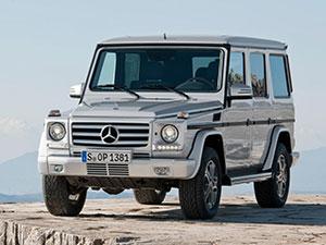 Технические характеристики Mercedes-Benz G-class