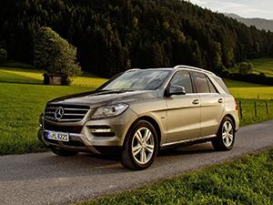 Технические характеристики Mercedes-Benz ML