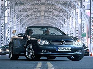 Технические характеристики Mercedes-Benz SL SL 55 AMG 2001-2006 г.
